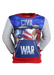 Sweats enfant garçon capitaine America Avengers livraison gratuiteBleu