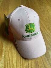"""John Deere Hat/Cap Pink And Green """"Nothing Runs Like A Deere� Owners Edition !"""