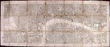 Antique map, Stanford's Library map of London and its suburbs sheet 10&11