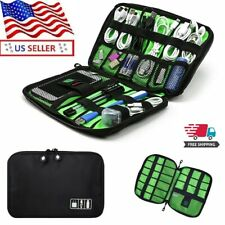 Electronic Accessories Cable USB Organizer Case Bag for phone Adapter Cables HDD