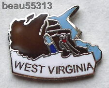 WEST VIRGINIA USA STATE  VEST JACKET HAT TAC BIKER PIN