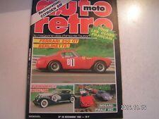 **d Auto Moto Rétro n°28 Dusenberg II Royalton / Ferrari 250 GT Berlinette