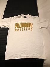 Billionaire Boys Club T Shirt BBC White Gold Pharrell Bape Bathing Ape Small