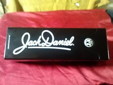 Jack Daniels Old No. 7 Brand  Black 1.75L Tin Decanter Container Collectible