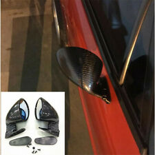 2PCS F1 Style Side Wing Rear View Plane Mirror Universal Fit For Car Left &Right