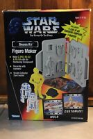 Kenner Star Wars Power Of The Force Figure Maker Droids C3PO R2D2 Kit Sealed!