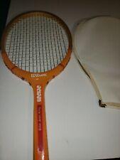 Vintage 70'S Billie Jean King Wilson Prestige Wood Tennis Racket 4 1/2
