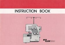 New Home My Lock 234, 234D * Instruction or Service manuals & Parts* CD or DWNLD