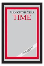 Man of the Year Time Magazine Spiegel - The Big Lebowski - Film Merch 22 x 32 cm