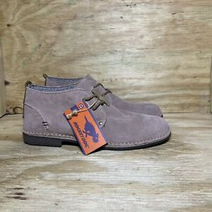 Rockport Suede Desert Chukka Boots Men's size 9.5 Taupe
