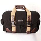 Waterproof Canvas DSLR SLR Camera Carry Shoulder Bag Messenger Padded Hand bag