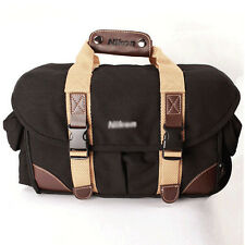 Waterproof Canvas DSLR SLR Camera Carry Shoulder Bag Messenger Padded Hand bag