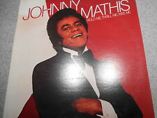 JOHNNY MATHIS   HOLD ME THRILL ME  KISS ME     LP    449