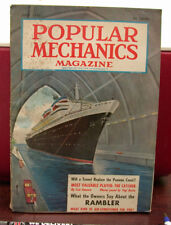 Popular Mechanics Monthly Magazine, June 1956! Fair Condition Complete.