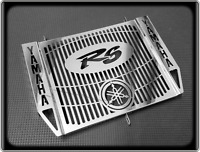 Polished Radiator Cooler Grill for YAMAHA R6 - 1998 to 2002, YZF 600 R