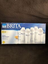 Brita Pitcher Replacement Water Filters 5-Pack MN OB03 Brand New in Box