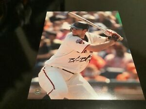Brandon belt  auto 8x10  ,giants coa&holo100%authentic CLEARANCE