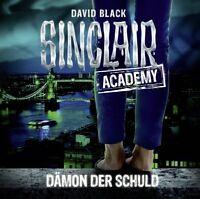 SINCLAIR ACADEMY-FOLGE 08 - DÄMON DER SCHULD  2 CD NEW