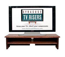 "RED Oak ""X-Large TRIPLE TIER"" TV RISER-36"" w x 14"" d x 8""high-by syracusetvriser"