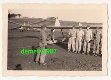 Foto VELA aviatori scuola Großrückerswalde Erzgebirge per 1940 aviatori aereo!