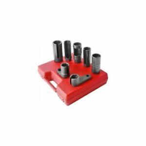Sunex 2850 Tools 7-piece 1/2 In. Drive Oxygen Sensor Set