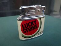 LUCKY STRIKE Gasolina ENCENDEDOR  MECHERO LIGHTER. ACCENTINO. FEUERZEUG.