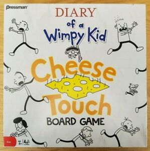 Diary Of A Wimpy Kid Cheese Touch Board Game Complete - played once