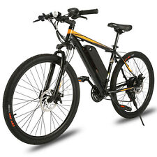 26INCH Electric Bike Mountain Bicycle EBike SHIMANO 21-Speed 350W 36V Li-Battery