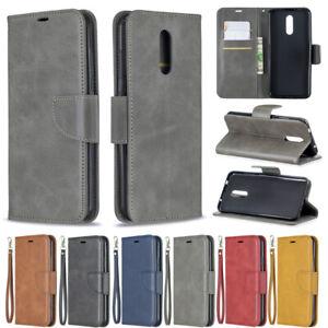 Slim Wallet Leather Flip Case Cover For Sony L4 L3 L1 5 10 Plus XA1 XA2 XZ1 XZ2