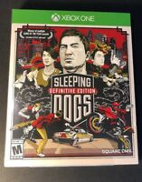 Sleeping Dogs Definitive Edition [ Launch Edition Art Book ] (XBOX ONE) NEW