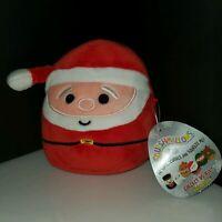 """Squishmallows Santa 5"""" Squishmallow Mini Plush Kellytoy HTF RARE NWT Holiday"""