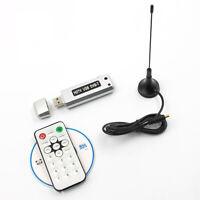 1pc USB 2.0 DVB-T TV Digital Receiver HDTV Tuner Dongle Stick Antenna IR Remote
