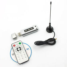 USB 2.0 DVB-T Digital TV Receiver HDTV Tuner Dongle Stick Antenna IR Remote New
