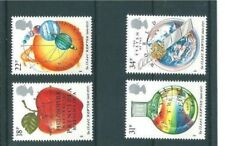 MINT 1987 GB SIR ISSAC NEWTON STAMP SET OF 4 MUH