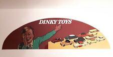 Dinky Toys sticker adhésif pour fronton de vitrine Dinky toys