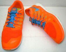Mens Nike Free 5.0 Hyper Crimson / Photo Blue Running Training Shoes Sz 13 Nice