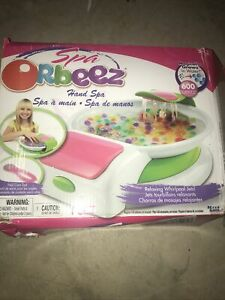 Orbeez Relaxing Hand Spa hard to find BOX Used