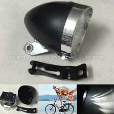 Retro Bicycle Head Light Vintage Bike Headlight Cycling LED Front Night Fog Lamp