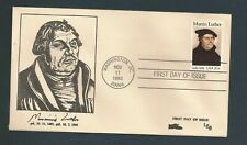 US Stamps FDC / MARTIN LUTHER #2065 / LEB Cachet / 1983