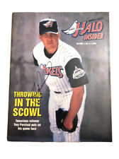1998 Anaheim Angels Halo Insiders Troy Percival Signed Autograph Magazine