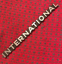 "Vintage International-Harvester Pickup Truck Emblem Badge 9.5"" USA . Nice!"