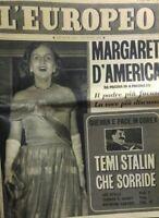 L'EUROPEO N.27 1951