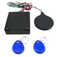 1x Car RFID Alarm Lock Keyless Engine Push Start Button Entry Immobilizer System