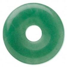 6260 Pendant Focal Donut Aventurine Gemstone 40mm Green *UK EBAY SHOP*