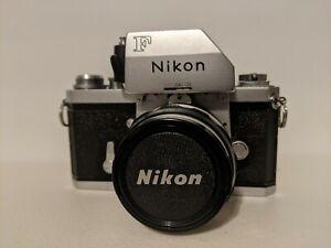 1967 Nikon F Photomic Camera w/ Nikkor-H 50mm f2 Lens Nippon Kogaku