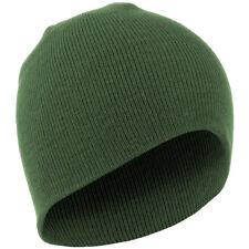 Koud Weer Army Tactisch Acrylic Knit Horloge Glb Warme Unisex Beanie Hat Olive