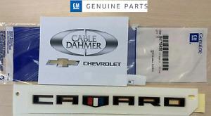 84116450 Chevrolet Camaro OEM Factory Redline Fender Badge Emblem  NEW
