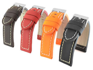 SPORTY STYLE LEATHER WATCH STRAP BAND OZON 22, 24, 26 MM us