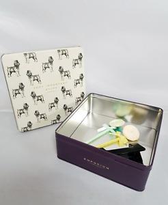 Very Important Stuff Pug Emporium Tin Box Storage Container Biscuit Food Tub
