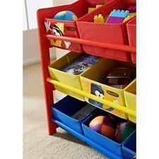 Crayola® Primary Colour 9 Tub Storage Unit Furniture for Kids Bedroom